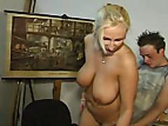 Hot milf fucks a younger horny guy