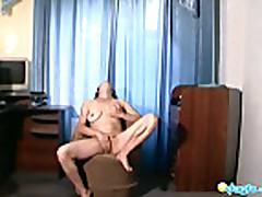Nina cam dances and solo masturbation
