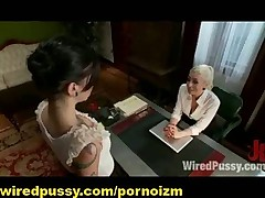 Lesbian BDSM Slaves Bondage Electro and Corporal Punishments