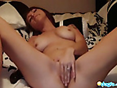 Cam- Sexy Emo gf riding her bf on live cam