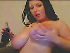 Cam- Huge boobs on webcam