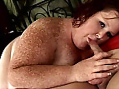 Bbw freckled Teen