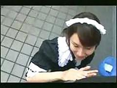 Yuri Manaka Maid Cosplay Creampie