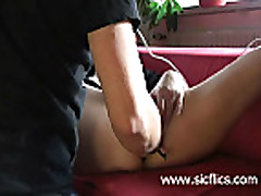Amateur slut fist fucked and masturbating till she reac