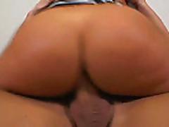 Big ass girl gets a fat cock
