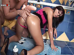 Rough Ass Fucking and Anal Fisting with Alysa