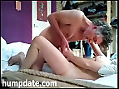 Horny couple fucking and having 69 oral sex