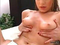 Aurora Snow Masturbates with a Dildo