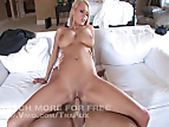 Hanna Hilton's Tits Bounce Everywhere As She's Fucked