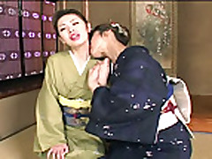lesbians in kimono