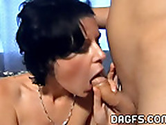 Insane blowjob at home