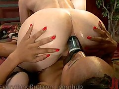 Anal domination and asshole stretching