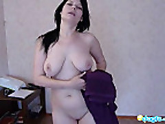 Pantera hot orgasm with her kinky dildo