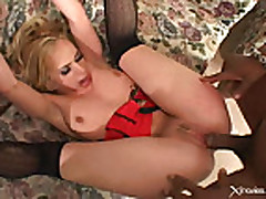 Kelly Wells - Hot Interracial