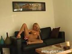 Anita Dark - Black couch