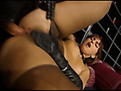 Silvia Lancome fucked in pantyhose