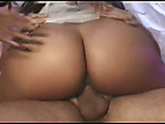 Black girls sharing one white cock