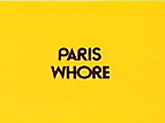 Paris Whore