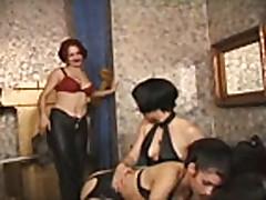 Spanking Lesbian Action