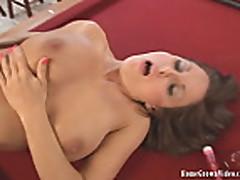 Lola Lynn Gets Fucked On A Pool Table