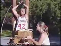 Basketball tickle