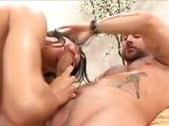 Horny babe Kayla Carerra