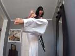 angels karate footjob