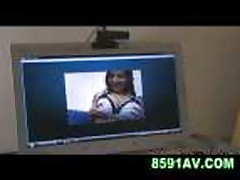 Mosaic: busty girl webcam show