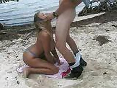 blonde beach sex 1