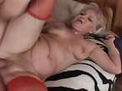 Bubble Butt Granny Takes it Hard - 12