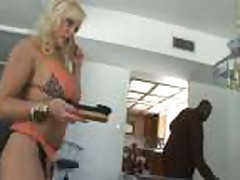 Alexis Golden fucked by a black guy