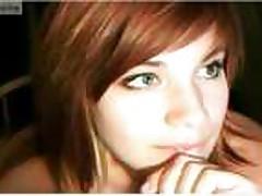 Cam: Webcam redhead masturbate