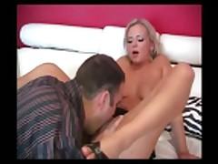 Blond Slut Bree Ass
