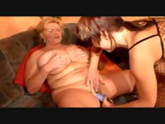 Massive Breasted German Mature Clip 1