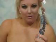 BBW Kirstyn Halborg Cute Masturbation