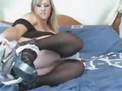 BBW Leah Jayne Maid to Masturbate