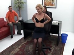 blond mom gangbanged