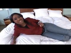 18 yr old ebony teen amateur
