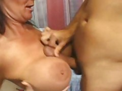 Horny Busty Deuxma Fucks & Squirts