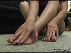 Feetfiles - Carma foot tease