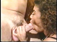 Retro suck and fuck with big titty girl