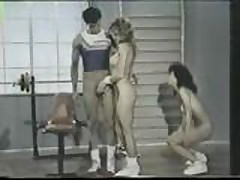 Blondi works out with Mei Ling