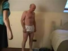Some good femdom spanking