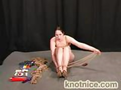 Bridgett Harrington - Self-Bondage