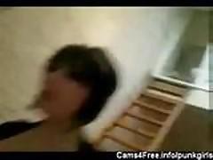 EMO Amy - Homemade Teen Goth POV!