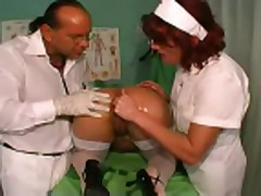 Anal fist at the doctor