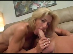 Mom with super hot big tits fucked hard