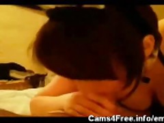 EMO Teen Amy POV Blowjob!
