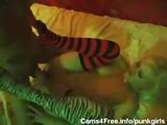 EMO Goth Teens Orgy!
