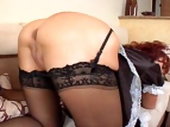 Sexy Vanessa is a Maid